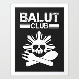 Balut Club Art Print