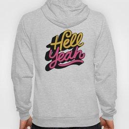 hell yeah 002 x typography Hoody