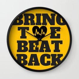 Bring the Beat Back Wall Clock