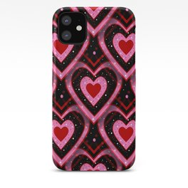 Heavenly Hearts - Happy Valentines Day iPhone Case