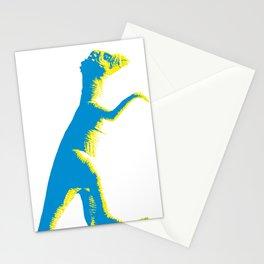 alex the dino Stationery Cards