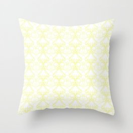 *YELLOW_PATTERN_2 Throw Pillow
