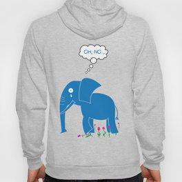 Sad Elephant Hoody