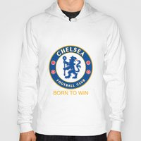 chelsea Hoodies featuring Chelsea by DeBUM