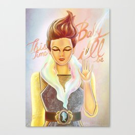 La Roux Canvas Print
