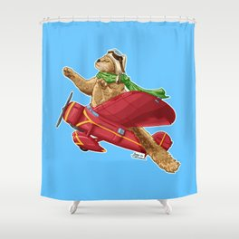 Amelia Kittenhart Shower Curtain
