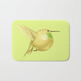 Hh - Honeybird // Half Hummingbird, Half Honeydew Melon Bath Mat
