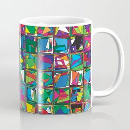 Stacks Geometric Art Print. Coffee Mug