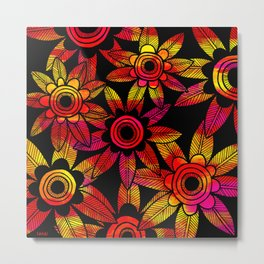 Big Floral 1 Metal Print