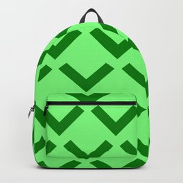 Geometry No. 3 -- Lime Backpack
