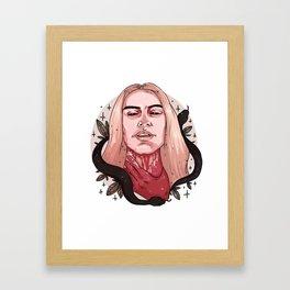 Ave Satanas Framed Art Print