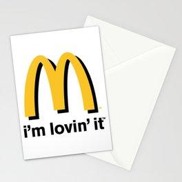 MacDonald's logo  Stationery Cards