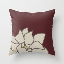 Gardenias No 01 Throw Pillow