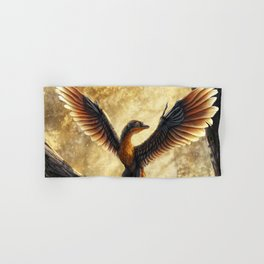 Archaeopteryx Lithographica Commission Hand & Bath Towel