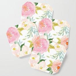 Sweet Pink Blooms (Floral 02) Coaster