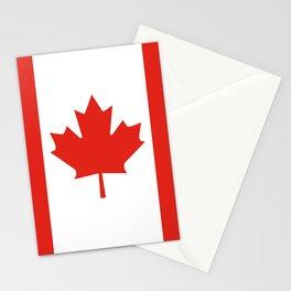 Canada flag Stationery Cards