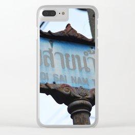 Thai St. Clear iPhone Case