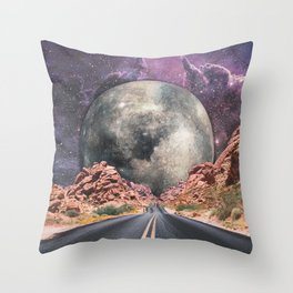 JOURNEY TO THE UNIVERSE Throw Pillow