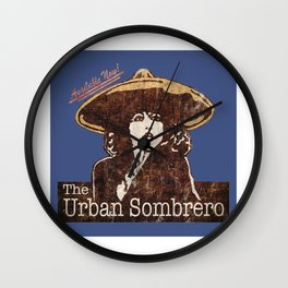 The Urban Sombrero Wall Clock