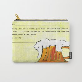 Being Friends with You Carry-All Pouch