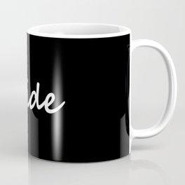 Bride Black & White Coffee Mug