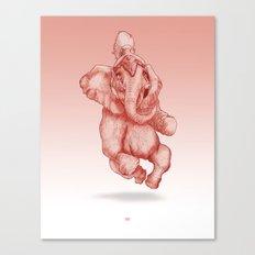 Elephantrance  Canvas Print
