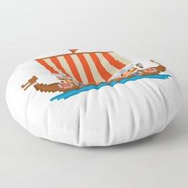 Vikings Floor Pillow