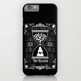 The Reader Tarot Card iPhone Case