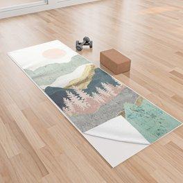 Summer Vista Yoga Towel