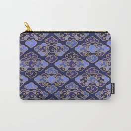 Blue Japanese Clouds Carry-All Pouch