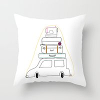sewing Throw Pillows featuring vacation sewing by kid's clothes week