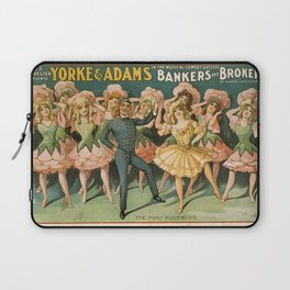 Vintage poster - Bankers and Brokers Laptop Sleeve