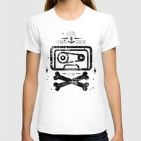 tape T-shirts featuring Pirate Tape by melted