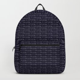 It's Complicational Backpack