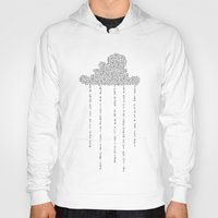 cloud Hoodies featuring Cloud by RAGAN ILLUSTRATION