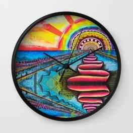 Sundog Wall Clock