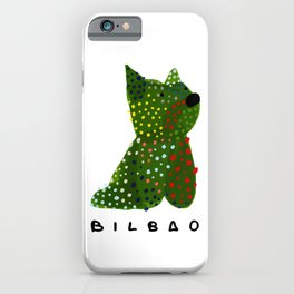Puppy Guggenheim Bilbao iPhone Case