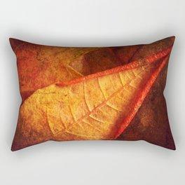 Cycle II Autumn Seasonal Modern ART Design  Rectangular Pillow