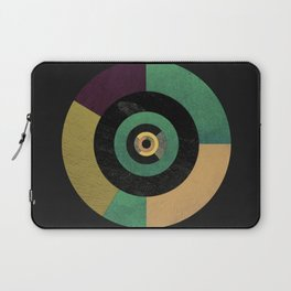 Circle Fibonacci.1 Laptop Sleeve