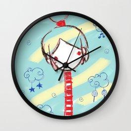 Girlaffe Wall Clock