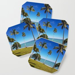 Fijian Summer Views Coaster