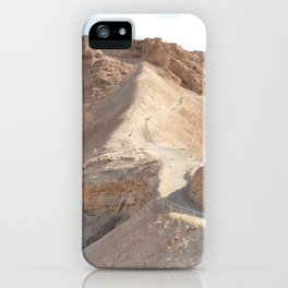Masada Trail iPhone Case