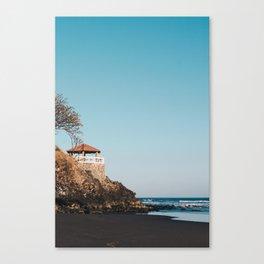 playa los mangos Canvas Print