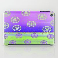 circles iPad Cases featuring Circles by Fine Art by Rina
