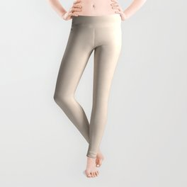 Delicate textured apricot. Leggings