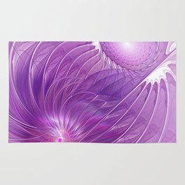 Protection, Abstract Fractal Art Rug