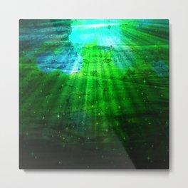 Deep Green Sea Metal Print
