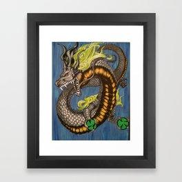 Spirit Dragon Framed Art Print