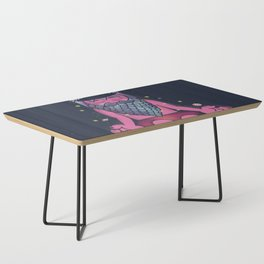 Just Be Here Now Coffee Table