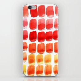 Brushstroke Colour Mixing 3 iPhone Skin